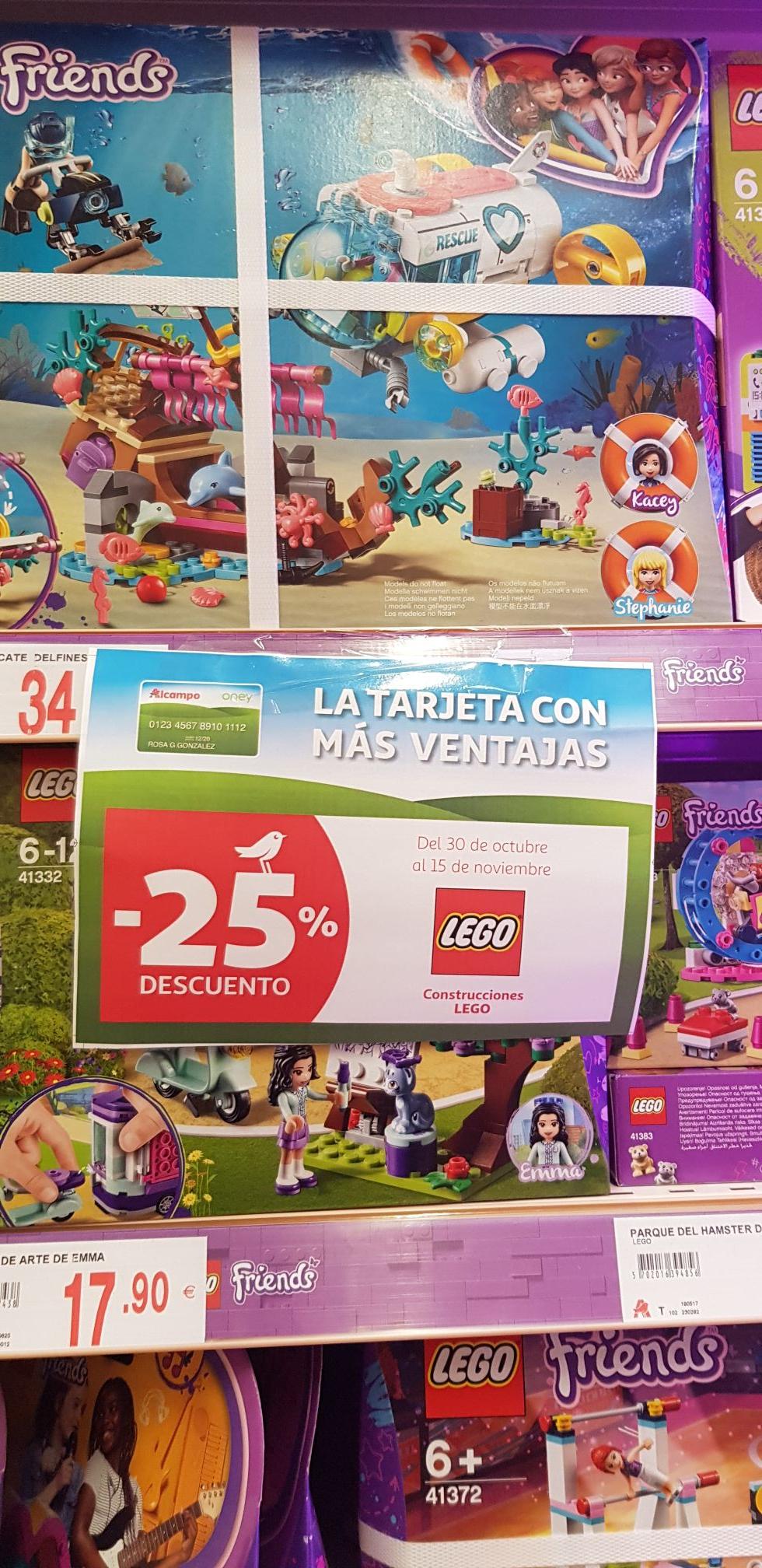 Ofertas de lego en Alcampo visto en Loranca Fuenlabrada