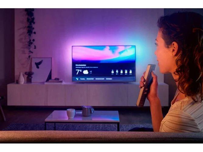 TV PHILIPS 58PUS7304/12 (LED 58'' Panel VA - 4K UHD - AndroidTV - Ambilight)