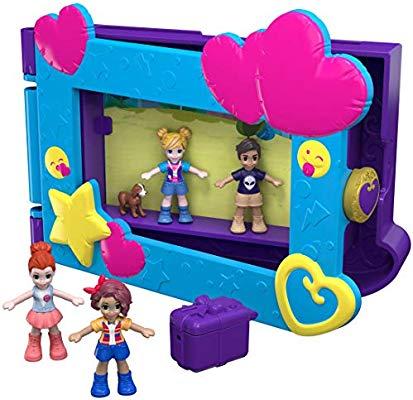 Polly Pocket Marco de fotos de Polly, muñecas con accesorios (Mattel) (COMO NUEVO)