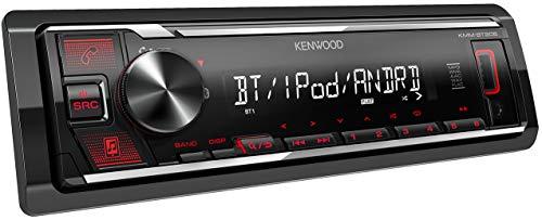 Reproductor Kenwood para coches con Bluetooth y USB