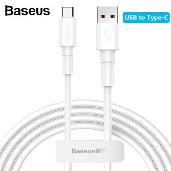 Cable Baseus tipo Micro USB 3A de 1m