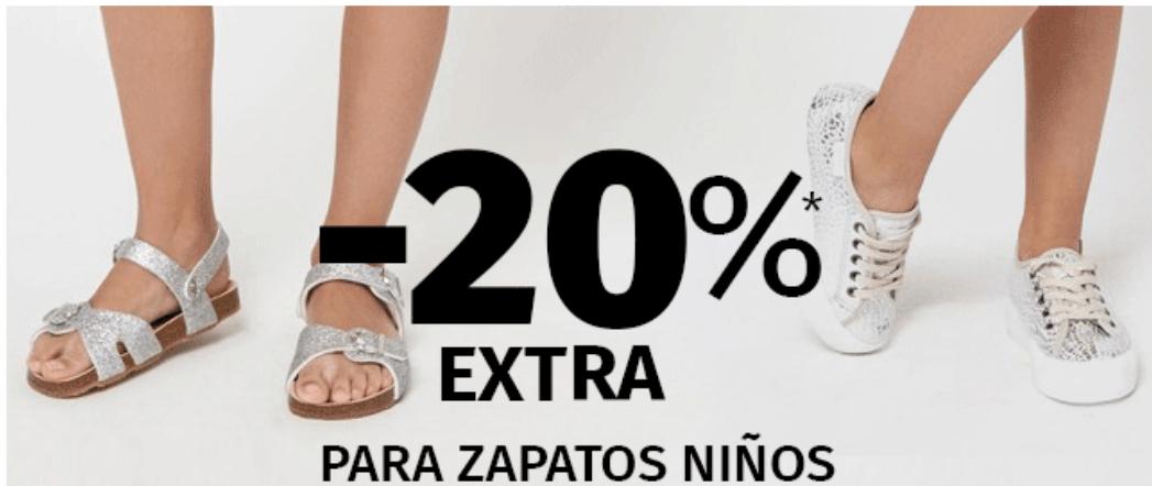 ZACARIS: 20% EXTRA en zapatos para niños