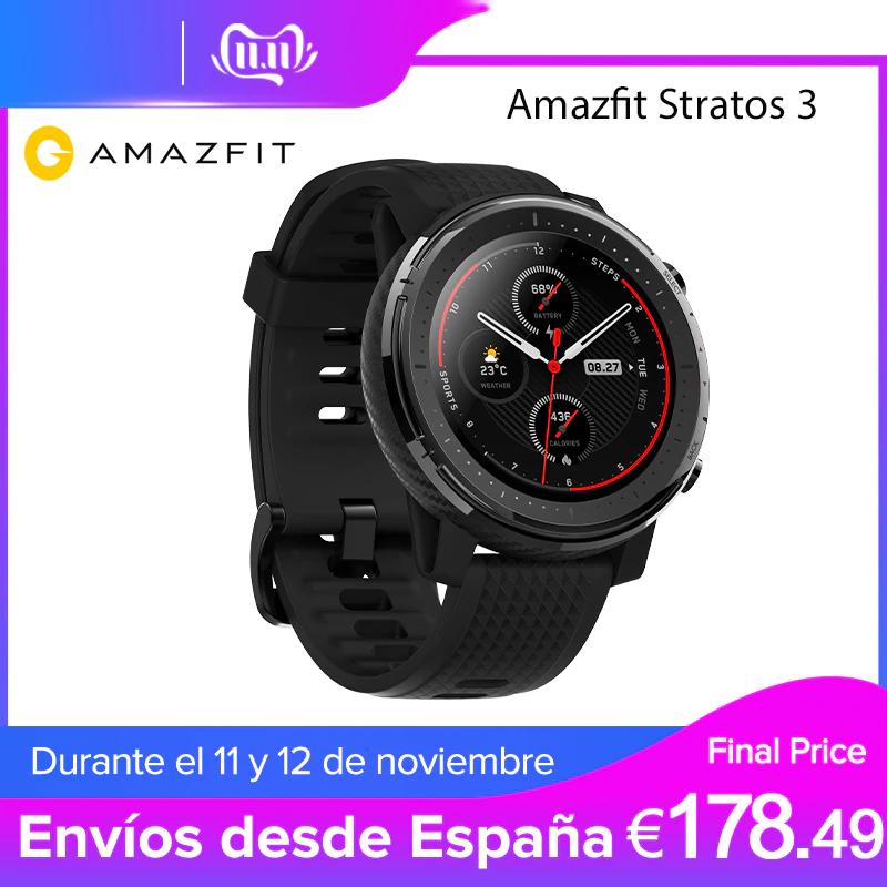 AMAZFIT STRATOS 3 PLAZA (ENVIO DESDE ESPAÑA)