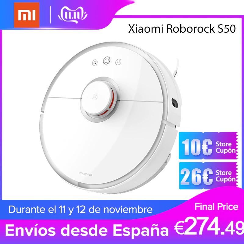 ROBOROCK S50. PLAZA (ENVIO DESDE ESPAÑA)