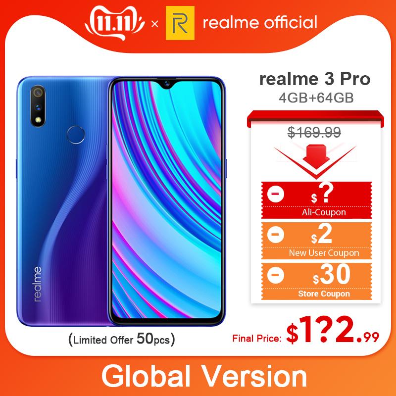 Realme 3 Pro versión Global 4GB RAM 64GB ROM