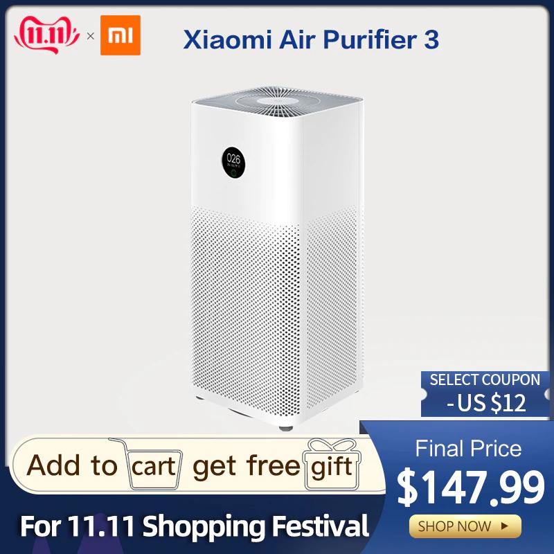Purificador de aire Xiaomi 3