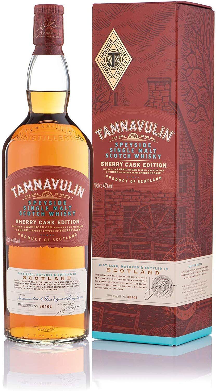 Tamnavulin Speyside Single Malt Sherry Cask Edition - 700 ml.