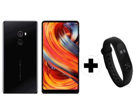 Xiaomi mi mix 2 + Mi band 2