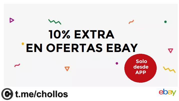10% EXTRA en ofertas de eBay desde la APP