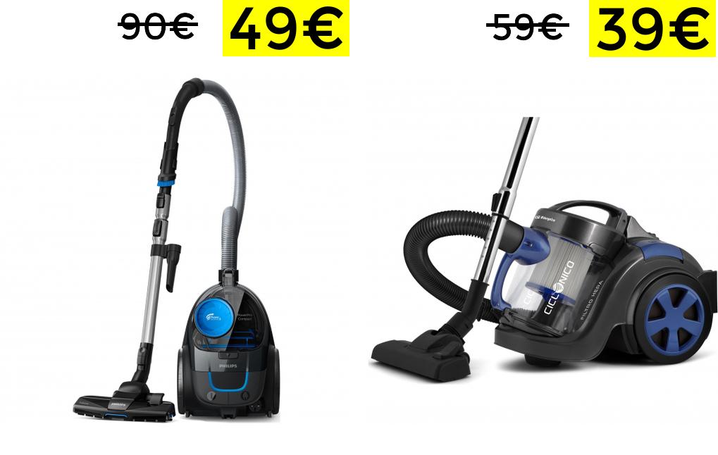 Preciazos en aspiradoras en Carrefour