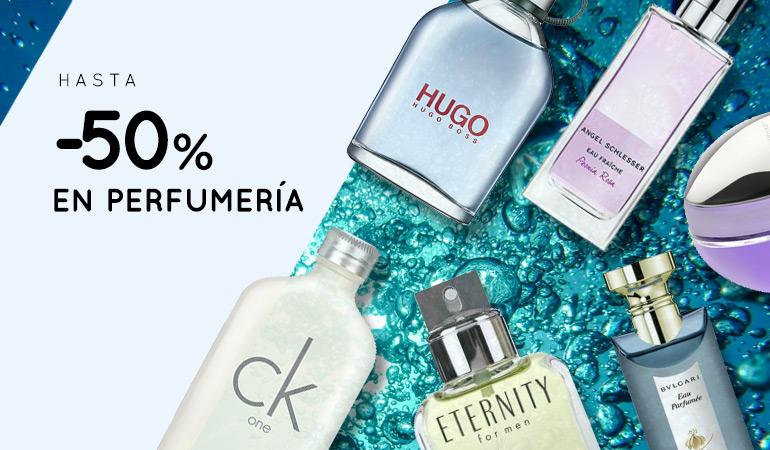 ¡Hasta 50% de descuento Druni en selección de perfumes!
