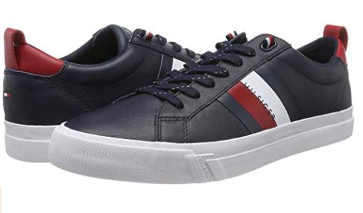Tommy Hilfiger zapatillas cuero solo 49.7€