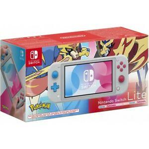 Nintendo Switch Lite Edición POKEMON Zacian Zamazenta (Envío desde ESPAÑA)