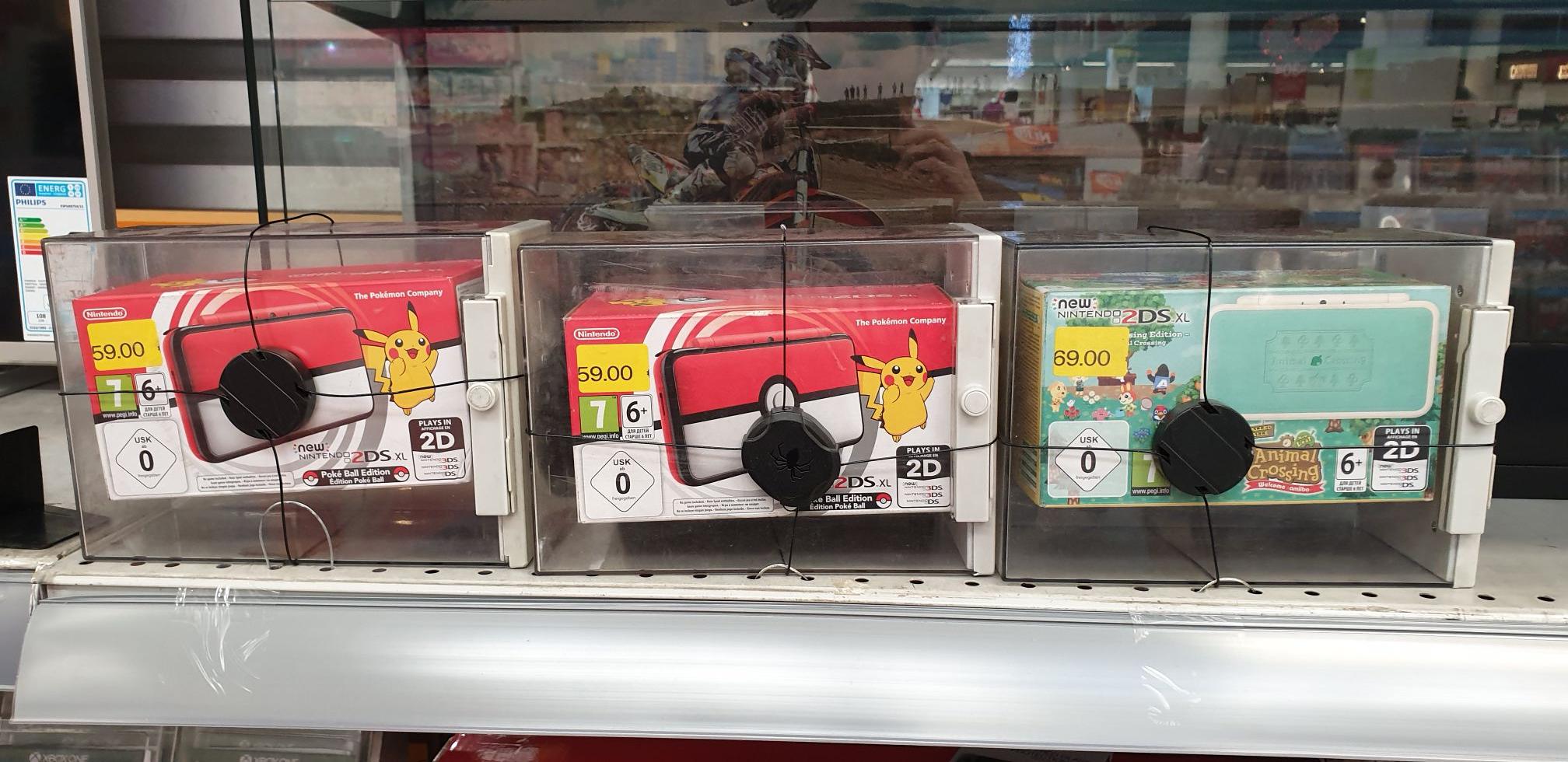 CHOLLAZO!! Nintendo New 2DS XL Edicion Pokeball 59€