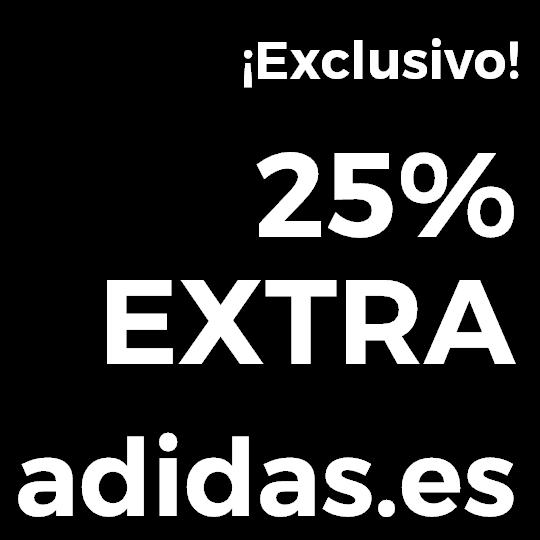 Pre Black Friday en ADIDAS 50% Outlet + 25% EXTRA en TODO