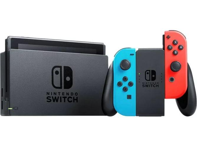 Nintendo switch V2 + pokemon espada/escudo por 334,99€