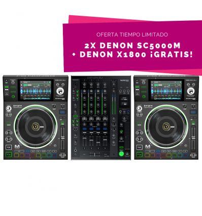 Denon SC5000M x2 + X1800 por 2598 ( X1800 Gratis )