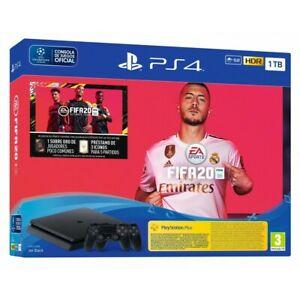 PS4 1TB + JUEGO FIFA 20 PS4 + 2 DUALSHOCK 4 V2 + VOUCHER + 14 DIAS PSN