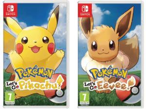 Pokemon: Let´s Go, Eevee! y Let´s Go, Pikachu! (Switch, Físico)