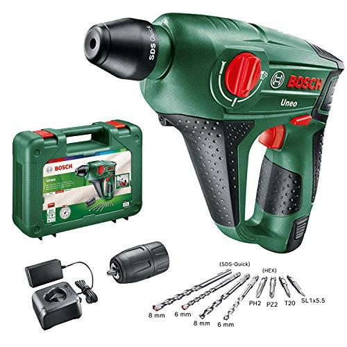 Perforador Bosch batería + maletín solo 79€