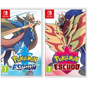 Pokémon Espada o Escudo a 44.85€