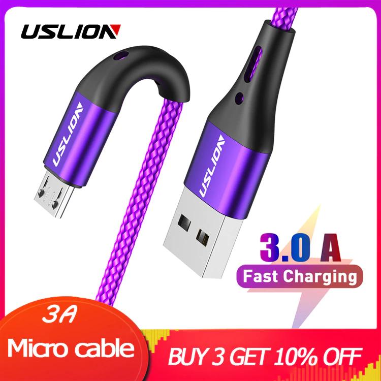 Cables 3.0A micro USB - Cupón vendedor