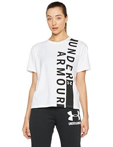 TALLAS S y XL - Under Armour Q1 Girlfriend Crew WM Camiseta de Manga Corta, Mujer