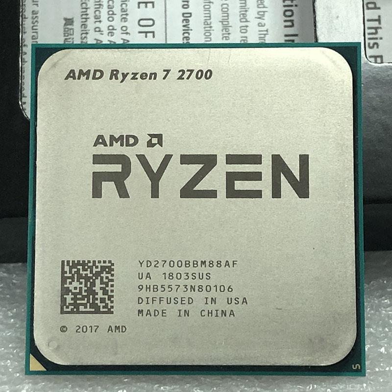 AMD Ryzen 7 2700 (usado)