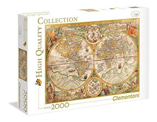 Puzzle Clementoni - Mapa Antiguo 2.000 piezas