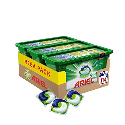 3 cajas de Ariel 3 en 1 pods (Precio al tramitar el pedido)