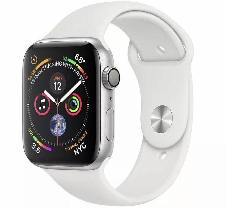 Apple Watch Series 4 - 44 mm Silver Aluminium