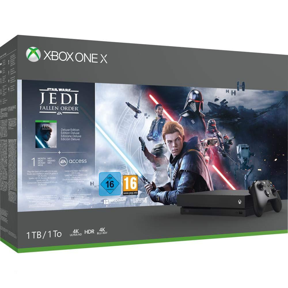 Xbox One X + Jedi: Fallen Order solo 379€