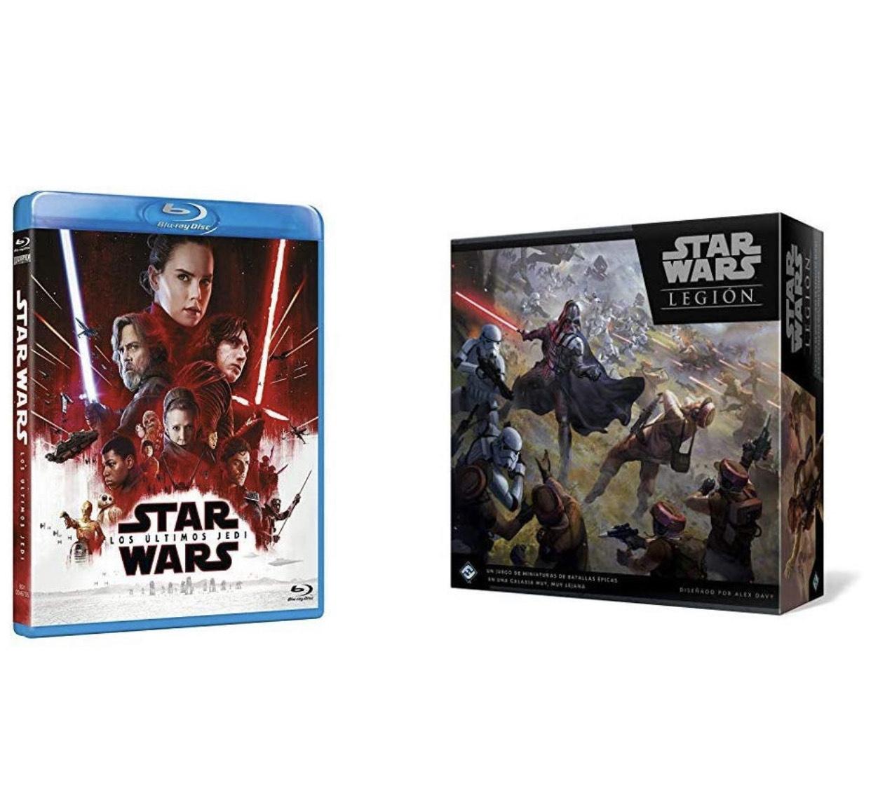 Star Wars - Juego de mesa Legión + DVD Los Últimos Jedi
