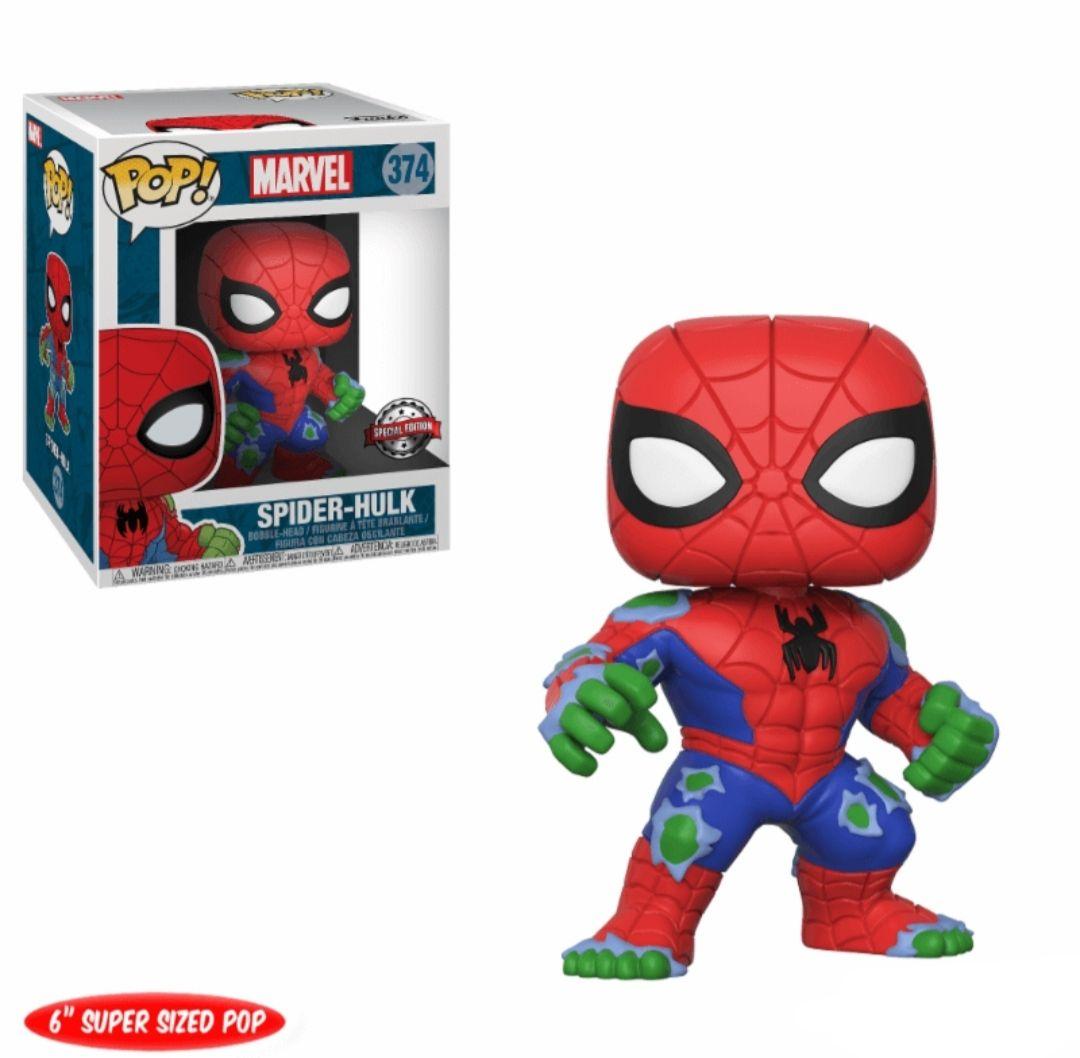 Figura Funko Pop! Marvel SpiderHulk (15cm)