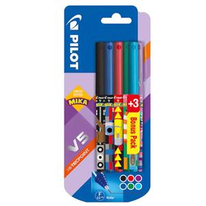 Pack 6 Bolígrafos de tinta liquida