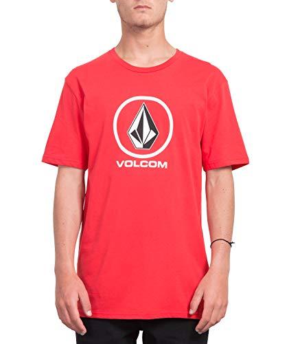 TALLA S - Volcom Crisp Stone BSC SS Camiseta, Hombre