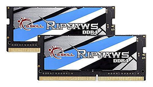 Portátiles: Memoria 32 GB (2X16) G.Skill Ripjaws SO-DIMM 32GB DDR4-2666Mhz