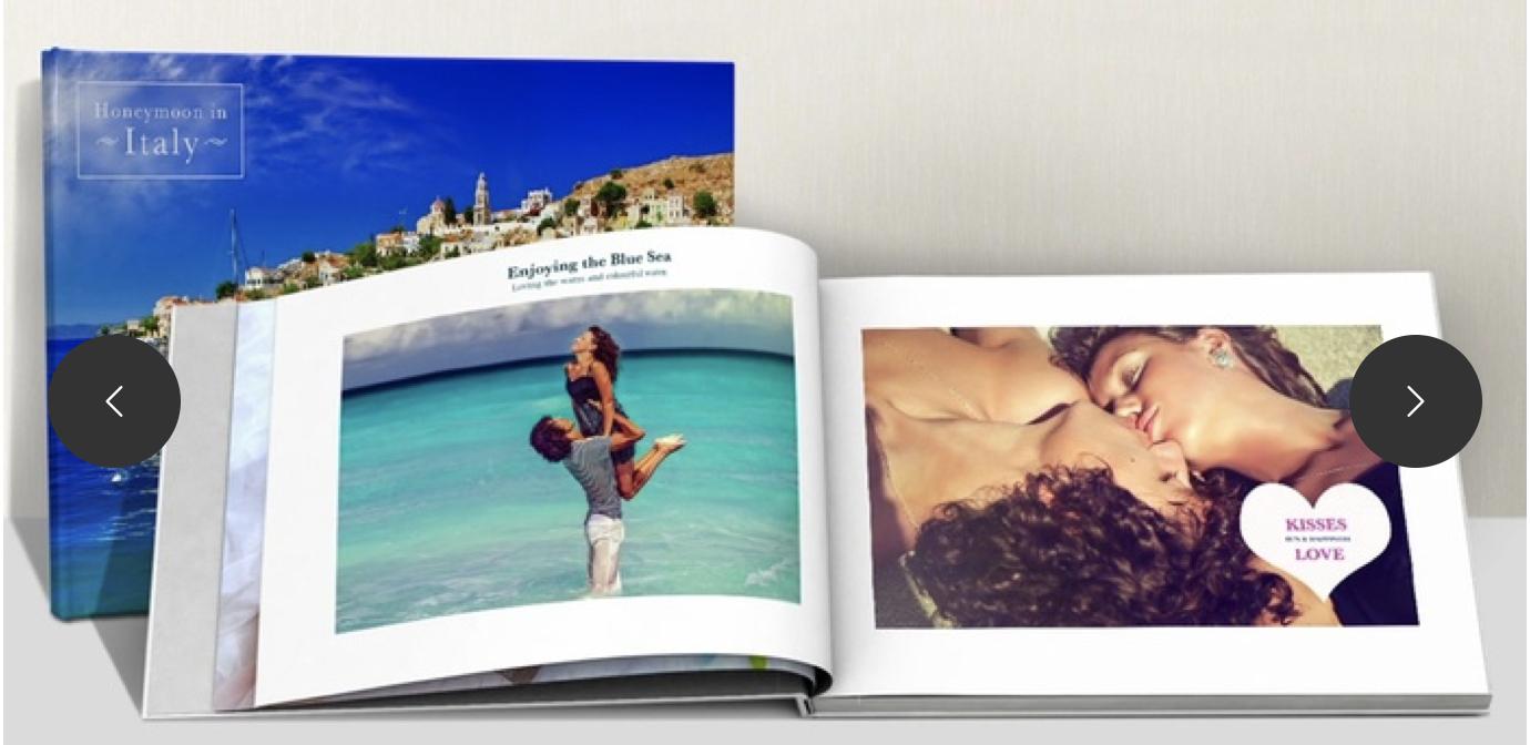 Fotolibro de tapa dura formato A5 Horizontal y 20 páginas