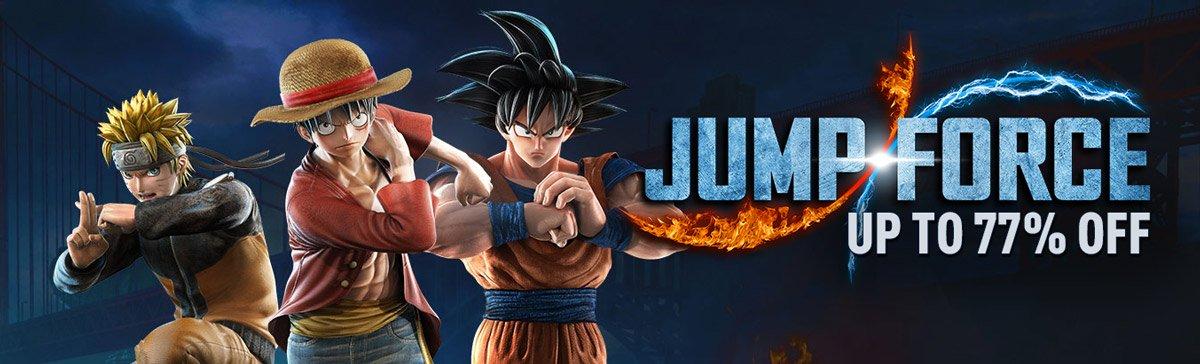 Mínimo histórico: Jump Force - Steam - 12,08€