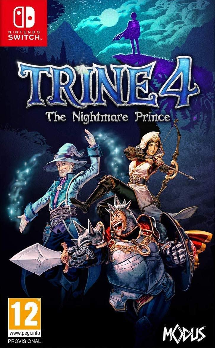 """Trine 4 """"The Nightmare Price"""" Nintendo Switch"""