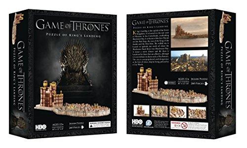 Juego de Tronos - Puzzle 4D Desembarco del Rey