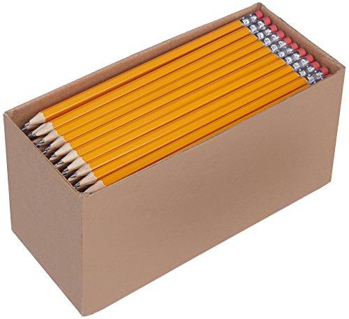 AmazonBasics - Lápices n.º 2 HB de madera, afilados, Pack de 150