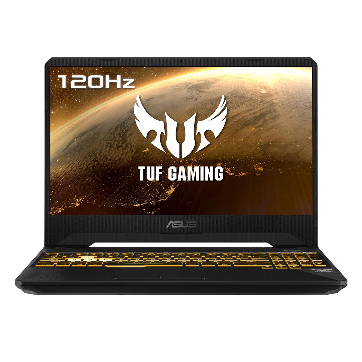 Portátil TUF Gaming FX505DV-AL014 / Ryzen 7 3750H / RTX2060 / 16GB RAM / 512GB SSD