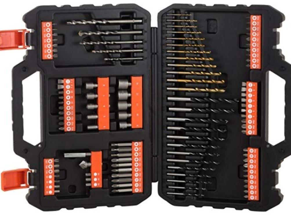 BLACK & DECKER A7200-XJ - Juego de 109 piezas
