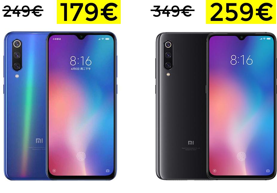 Preciazos para Xiaomi MI 9 SE y Xiaomi Mi 9