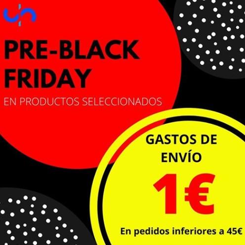 1€ GASTOS DE ENVÍO - PRE BLACK FRIDAY