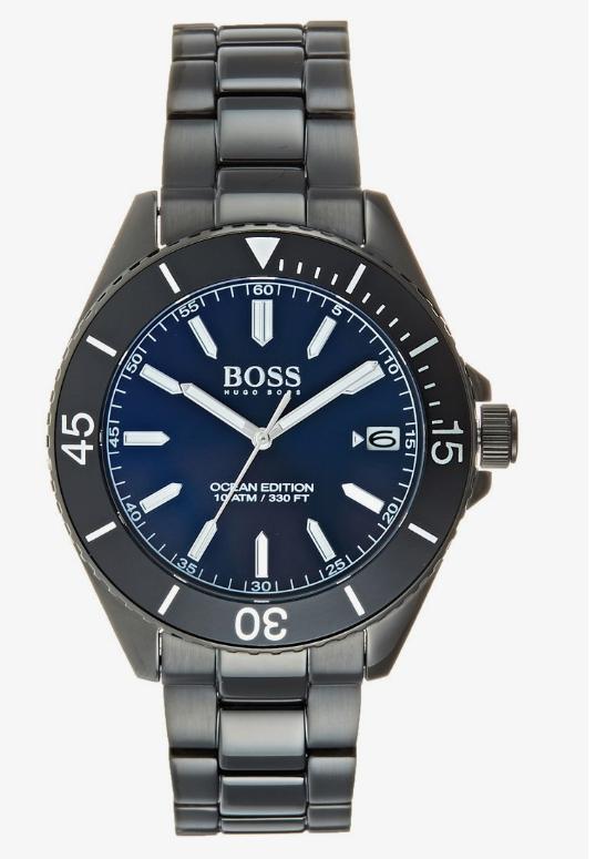 Reloj Hugo Boss OCEAN EDITION - negro