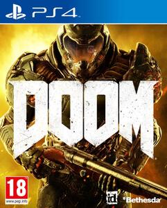 PS4 y XBOX ONE:   DOOM (juego físico)