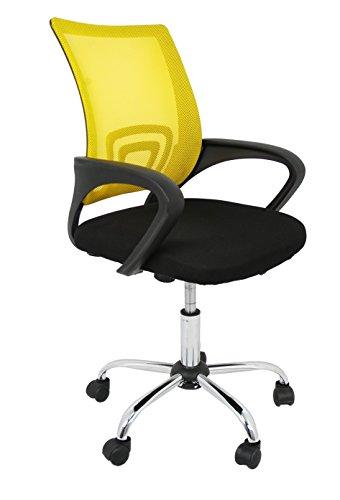 Silla de oficina (color amarillo)