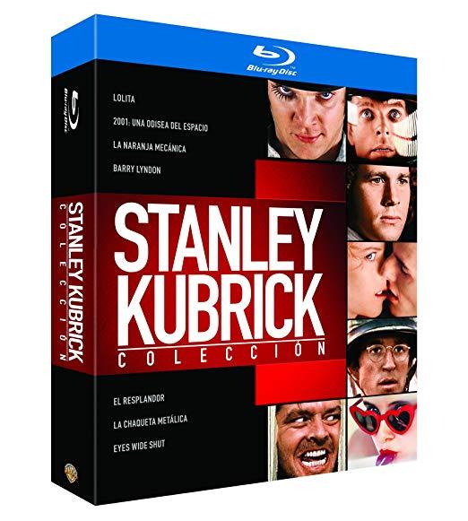 Pack Stanley Kubrick 7 Blu-ray por menos de 3 EUR cada uno